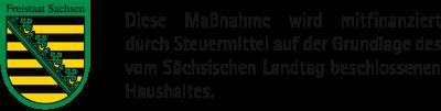EU-ESF Sachsen Logo